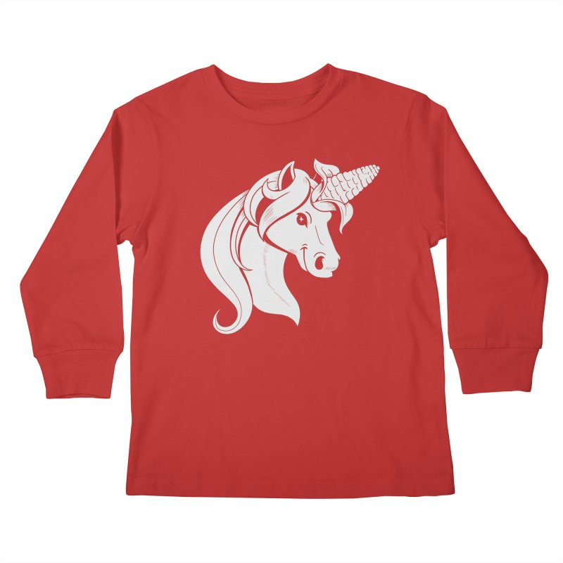 UNICORN Kids Longsleeve T-Shirt by Alpacaramba!