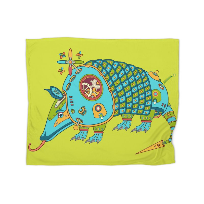 Armadillo, cool art from the AlphaPod Collection Home Blanket by AlphaPod