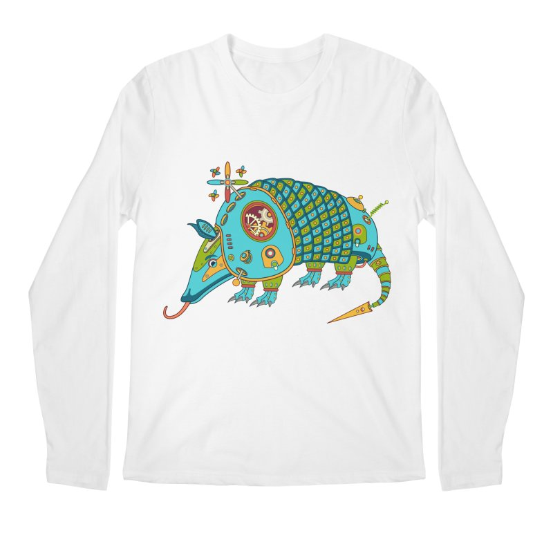 Armadillo, cool art from the AlphaPod Collection Men's Longsleeve T-Shirt by AlphaPod