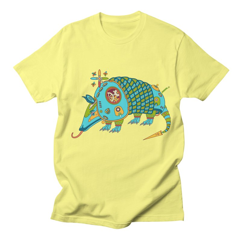 Armadillo, cool art from the AlphaPod Collection Men's T-Shirt by AlphaPod