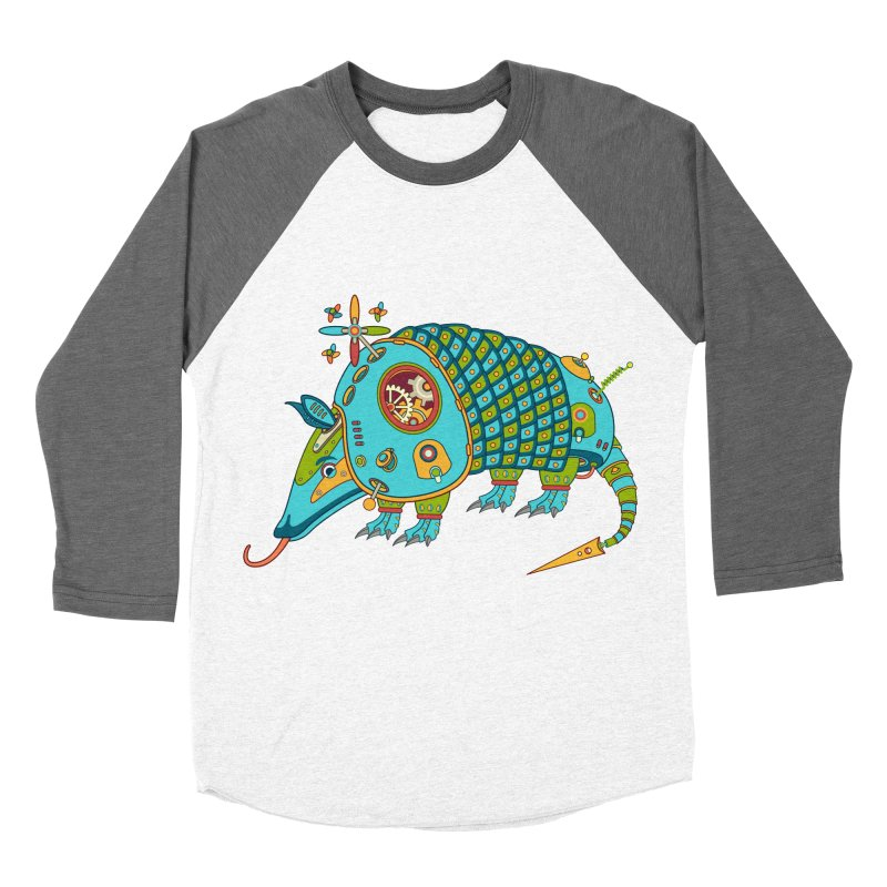Armadillo, cool art from the AlphaPod Collection Women's Longsleeve T-Shirt by AlphaPod