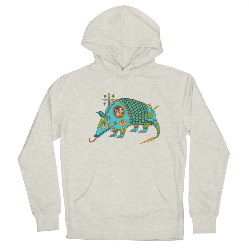 Armadillo, cool art from the AlphaPod Collection Men's Pullover Hoody by AlphaPod