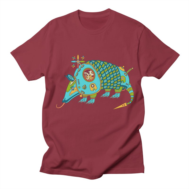 Armadillo, cool art from the AlphaPod Collection Women's Unisex T-Shirt by AlphaPod