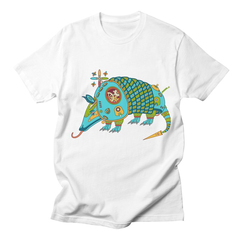 Armadillo, cool art from the AlphaPod Collection Women's Regular Unisex T-Shirt by AlphaPod
