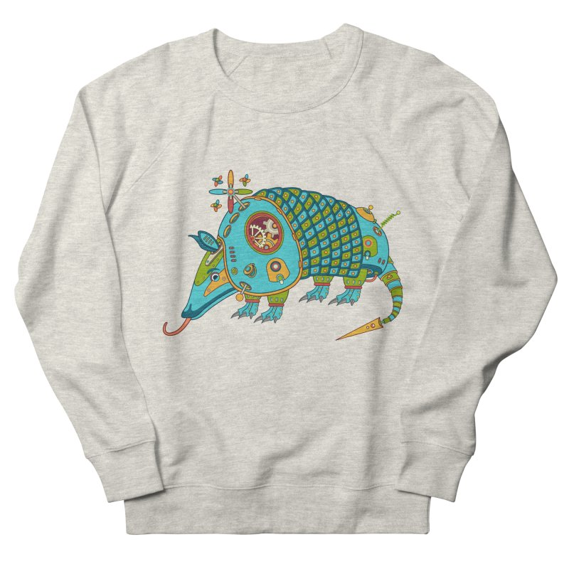 Armadillo, cool art from the AlphaPod Collection Women's French Terry Sweatshirt by AlphaPod