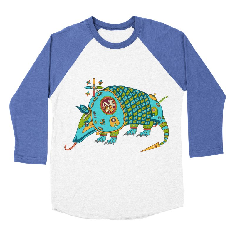 Armadillo, cool art from the AlphaPod Collection Women's Baseball Triblend T-Shirt by AlphaPod