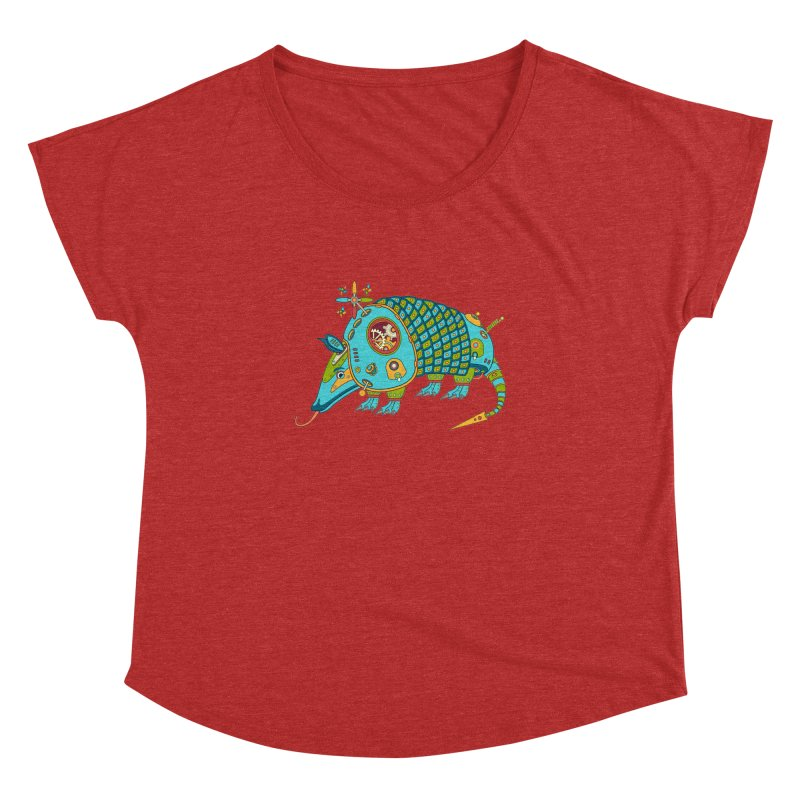 Armadillo, cool art from the AlphaPod Collection Women's Dolman by AlphaPod