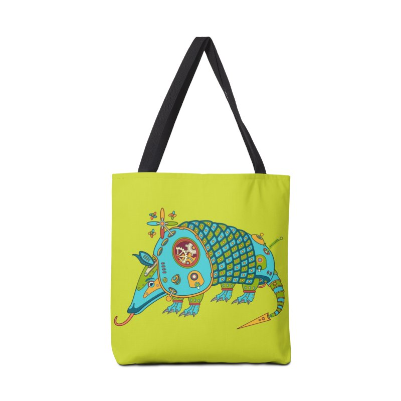 Armadillo, cool art from the AlphaPod Collection Accessories Bag by AlphaPod