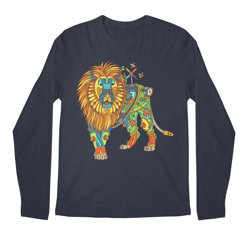 Lion, cool art from the AlphaPod Collection Men's Longsleeve T-Shirt by AlphaPod