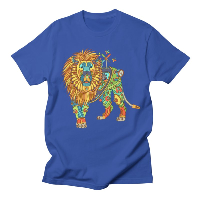 Lion, cool art from the AlphaPod Collection Men's T-Shirt by AlphaPod