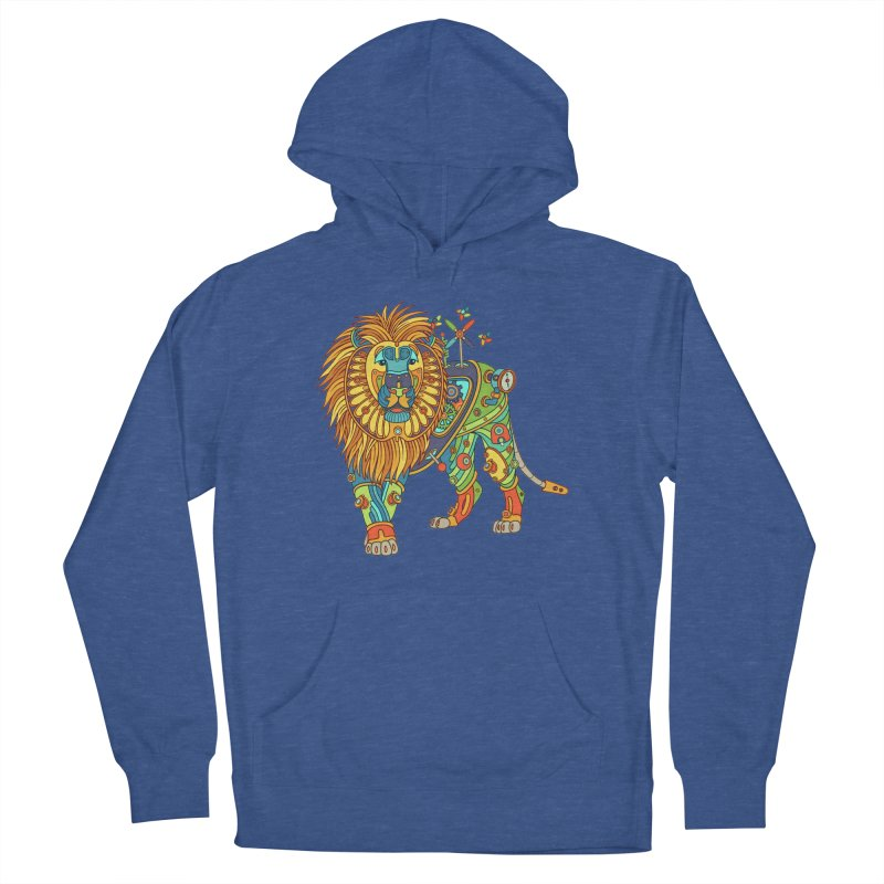 Lion, cool art from the AlphaPod Collection Women's Pullover Hoody by AlphaPod