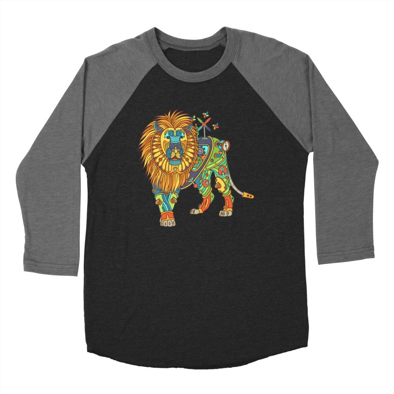 Lion, cool art from the AlphaPod Collection Women's Longsleeve T-Shirt by AlphaPod