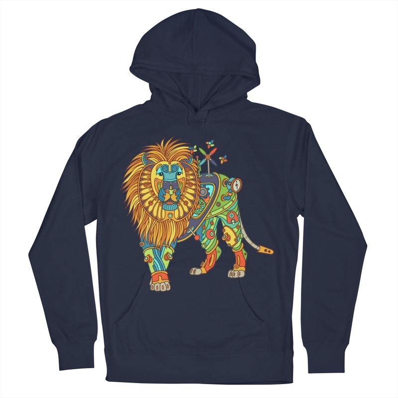 Lion, cool wall art for kids and adults alike Women's Pullover Hoody by AlphaPod