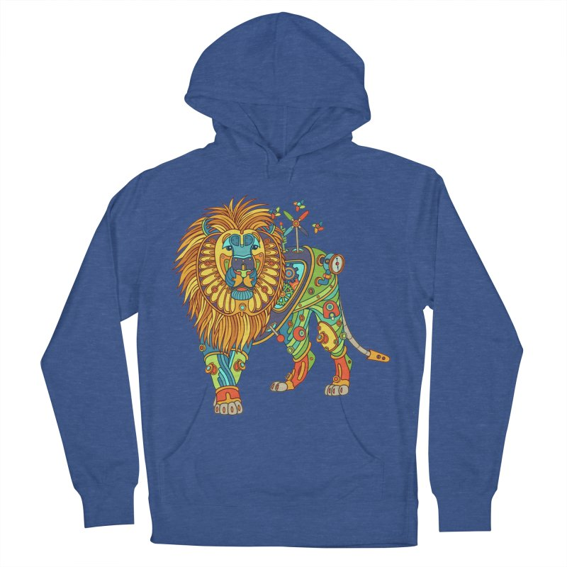 Lion, cool wall art for kids and adults alike Men's Pullover Hoody by AlphaPod