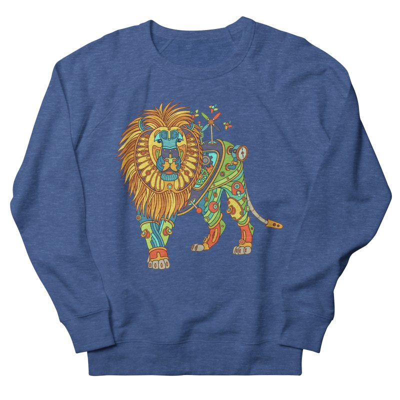 Lion, cool art from the AlphaPod Collection Men's Sweatshirt by AlphaPod