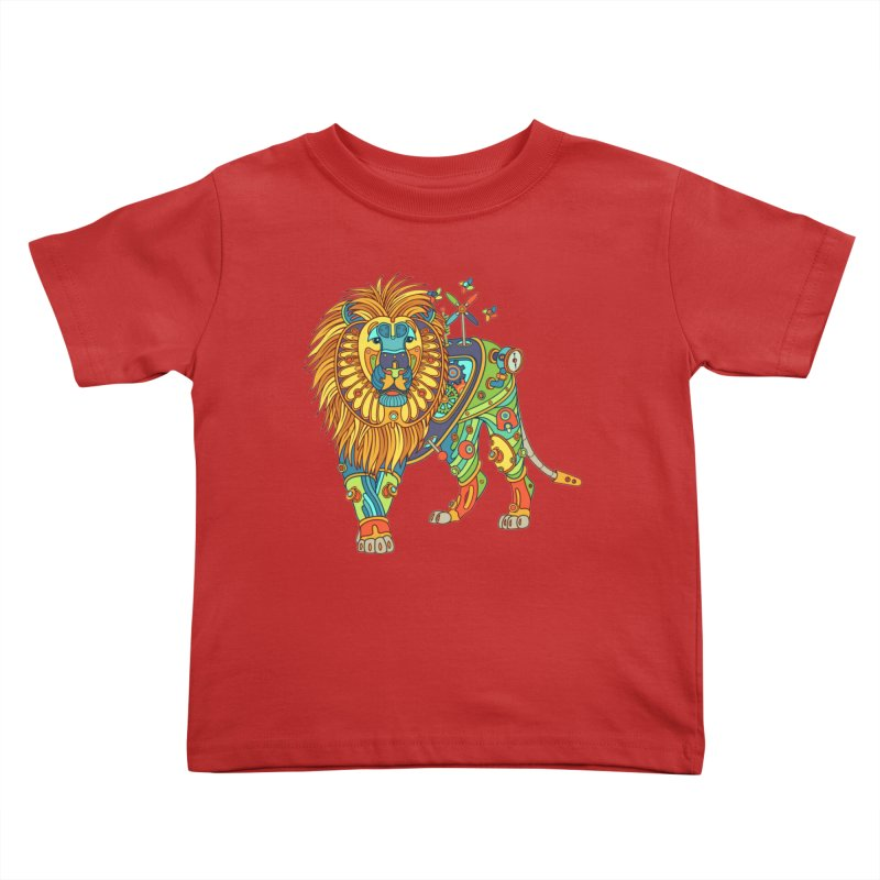 Lion, cool wall art for kids and adults alike Kids Toddler T-Shirt by AlphaPod
