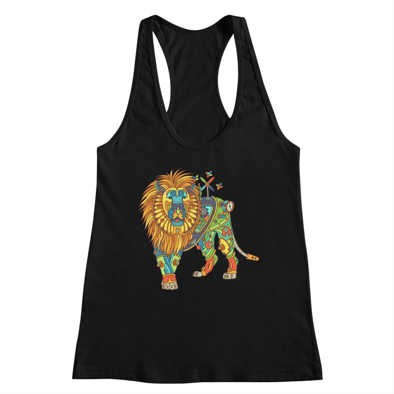 Lion, cool art from the AlphaPod Collection Women's Tank by AlphaPod