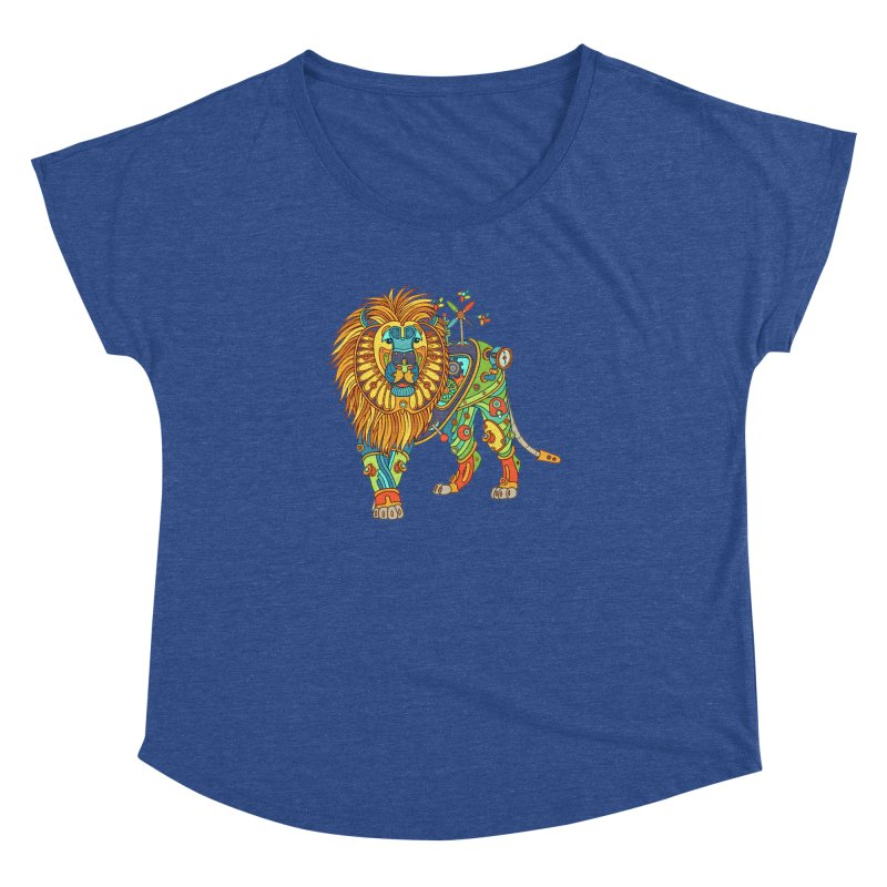 Lion, cool art from the AlphaPod Collection Women's Dolman by AlphaPod