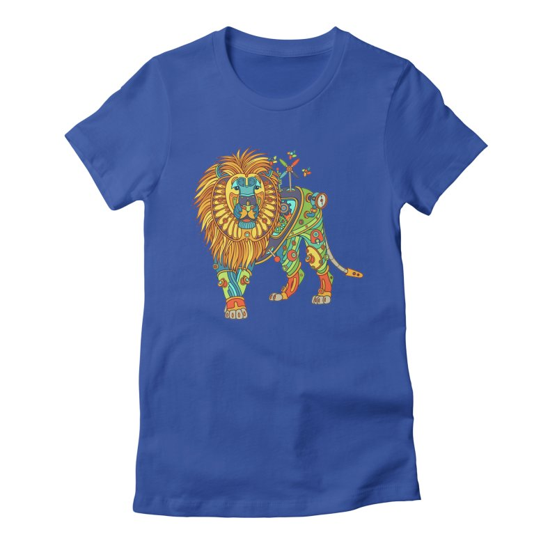 Lion, cool art from the AlphaPod Collection Women's T-Shirt by AlphaPod