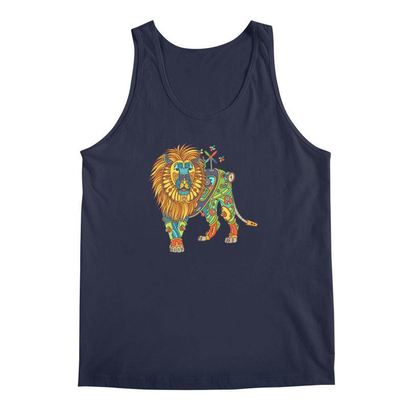 Lion, cool wall art for kids and adults alike Men's Tank by AlphaPod