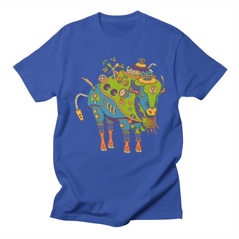Bison, cool art from the AlphaPod Collection Men's T-Shirt by AlphaPod