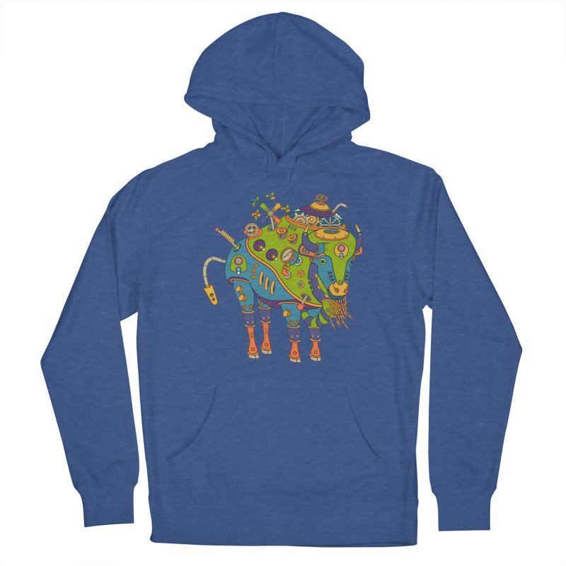Bison, cool art from the AlphaPod Collection Women's Pullover Hoody by AlphaPod