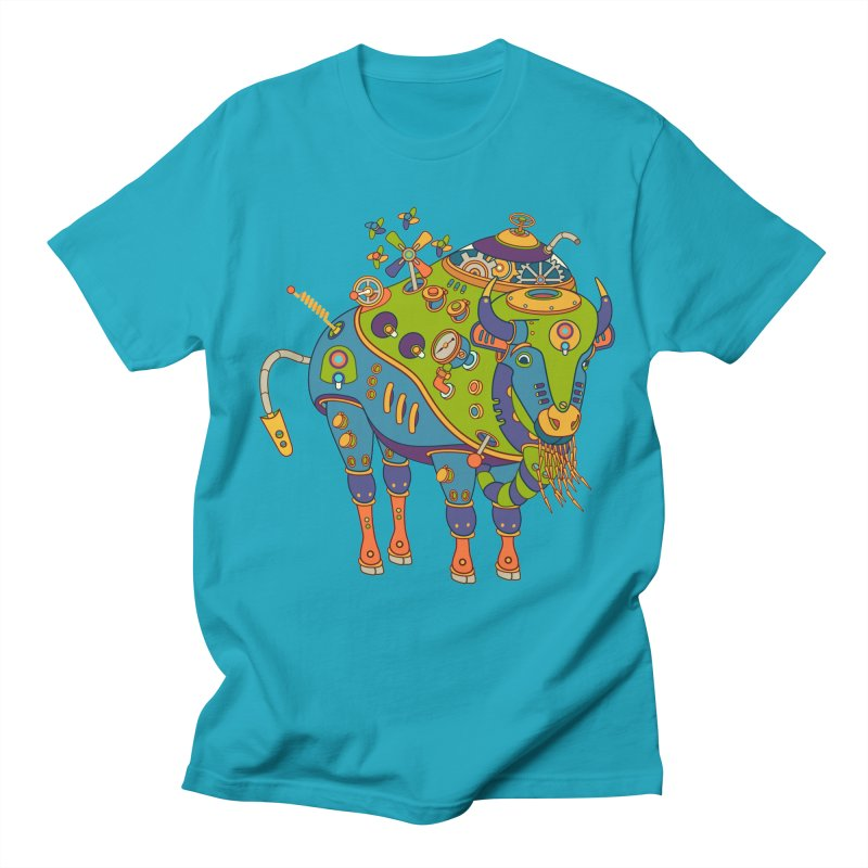 Bison, cool wall art for kids and adults alike Women's Unisex T-Shirt by AlphaPod