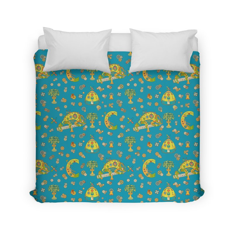 Chameleon, cool art from the AlphaPod Collection Home Duvet by AlphaPod