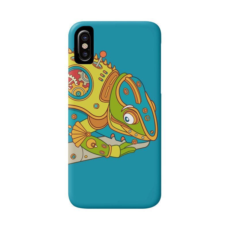 Chameleon, cool art from the AlphaPod Collection Accessories Phone Case by AlphaPod