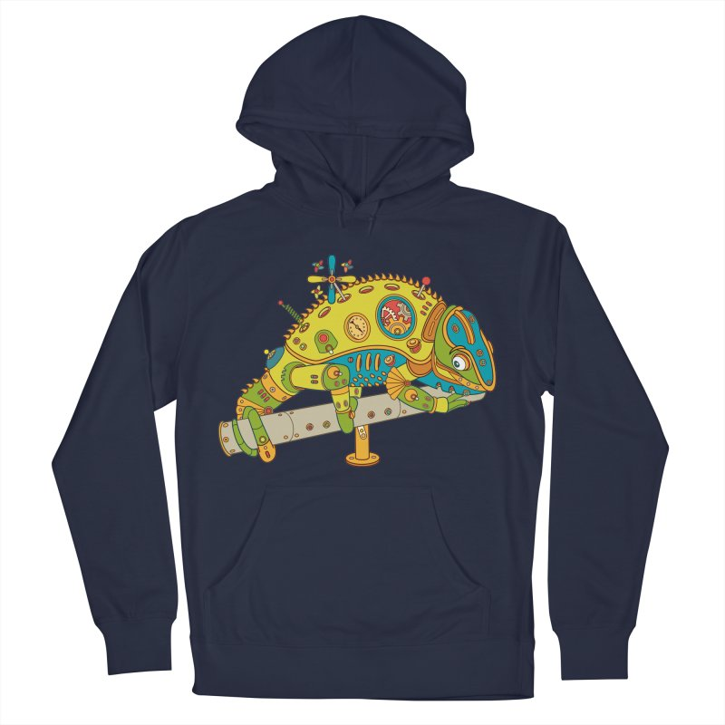 Chameleon, cool art from the AlphaPod Collection Men's Pullover Hoody by AlphaPod