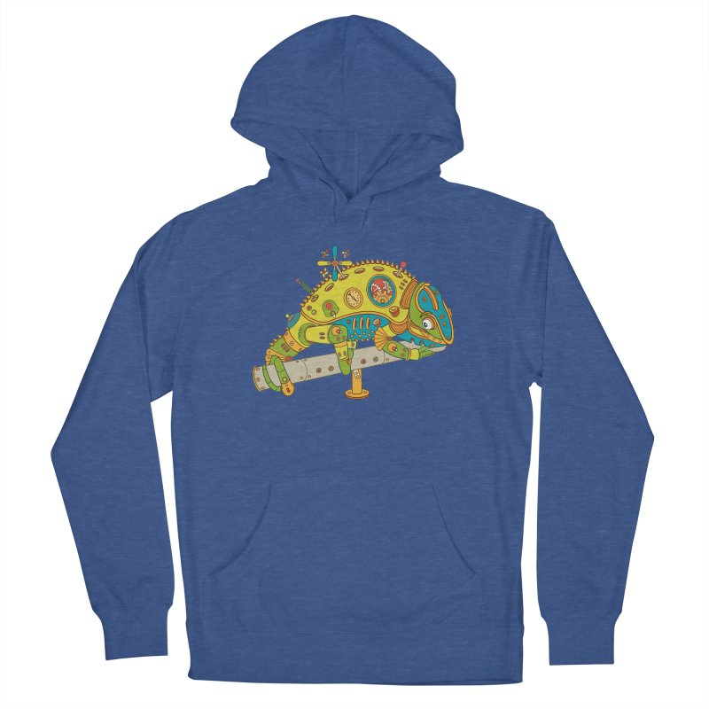 Chameleon, cool art from the AlphaPod Collection Women's Pullover Hoody by AlphaPod