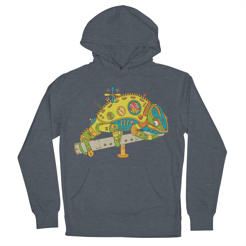Chameleon, cool wall art for kids and adults alike Men's Pullover Hoody by AlphaPod