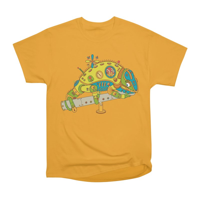 Chameleon, cool art from the AlphaPod Collection Men's Classic T-Shirt by AlphaPod