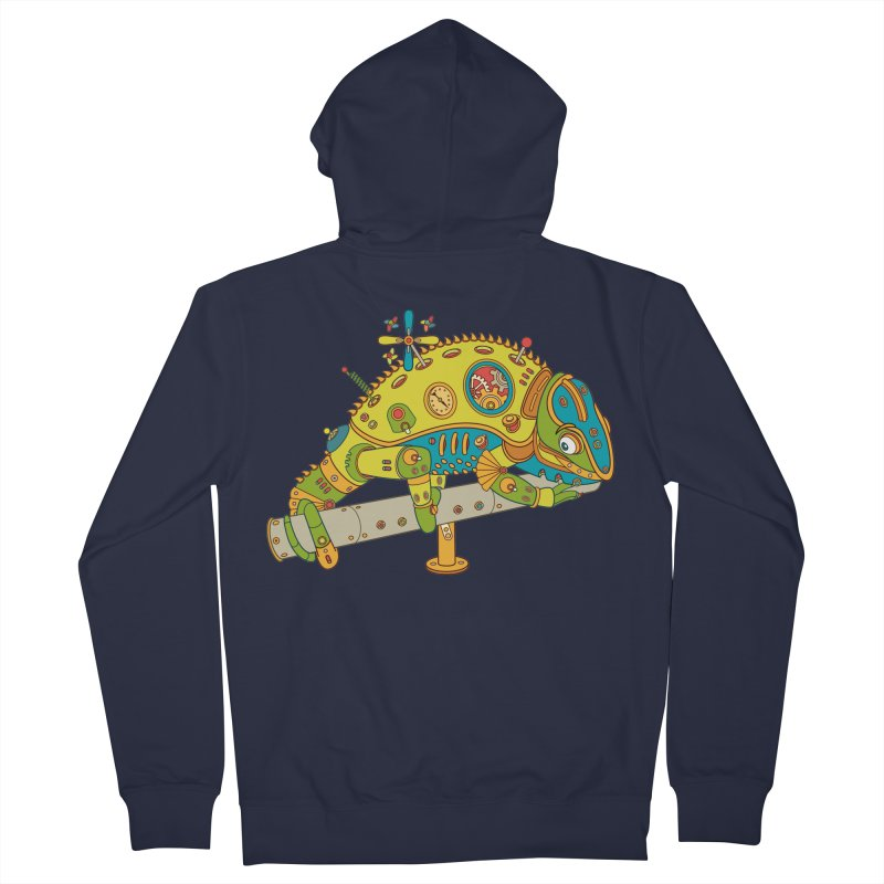 Chameleon, cool art from the AlphaPod Collection Women's Zip-Up Hoody by AlphaPod