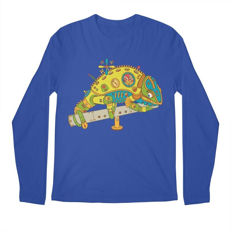 Chameleon, cool wall art for kids and adults alike Men's Longsleeve T-Shirt by AlphaPod