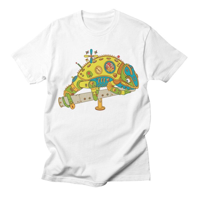 Chameleon, cool art from the AlphaPod Collection Women's Regular Unisex T-Shirt by AlphaPod