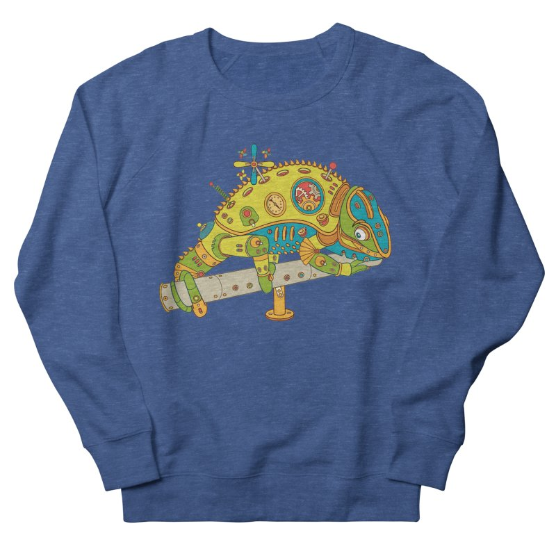 Chameleon, cool art from the AlphaPod Collection Women's French Terry Sweatshirt by AlphaPod