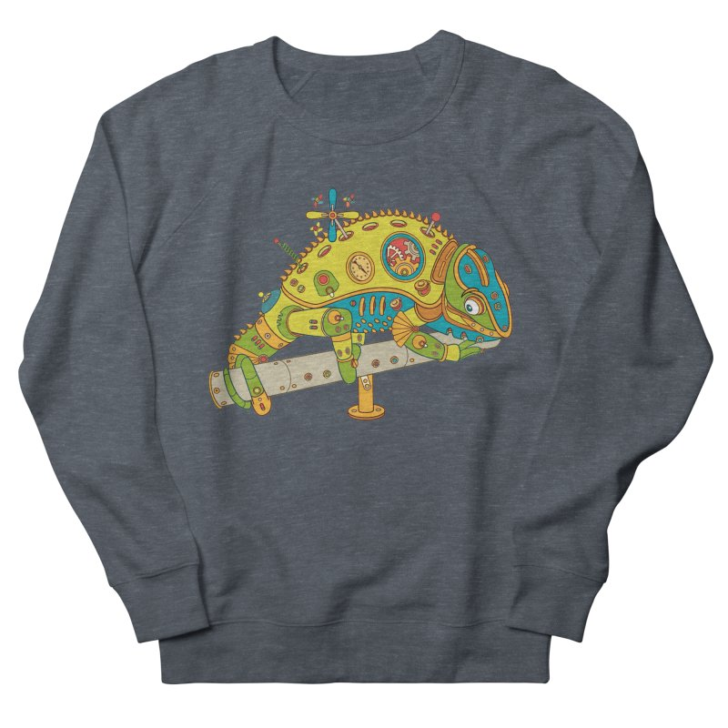 Chameleon, cool art from the AlphaPod Collection Women's Sweatshirt by AlphaPod