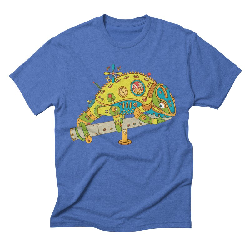 Chameleon, cool art from the AlphaPod Collection Men's T-Shirt by AlphaPod