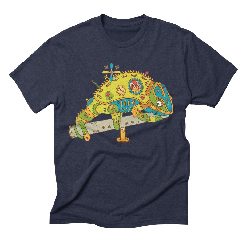 Chameleon, cool wall art for kids and adults alike Men's Triblend T-shirt by AlphaPod