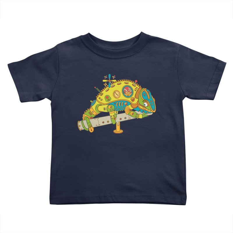 Chameleon, cool wall art for kids and adults alike Kids Toddler T-Shirt by AlphaPod