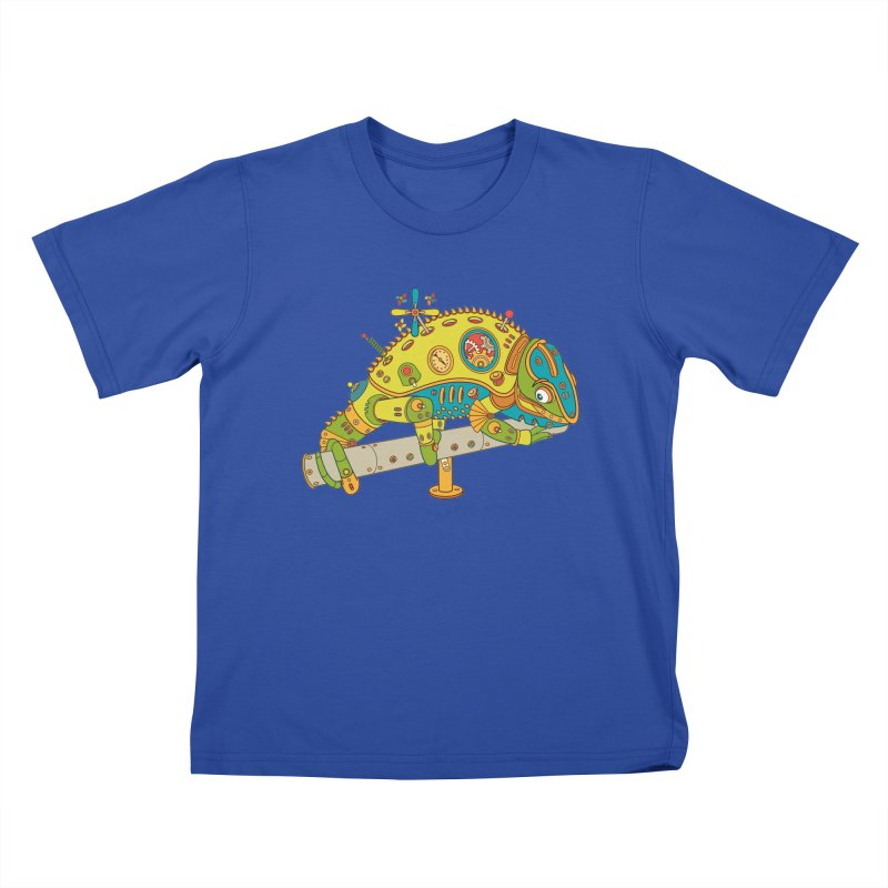 Chameleon, cool art from the AlphaPod Collection Kids T-Shirt by AlphaPod