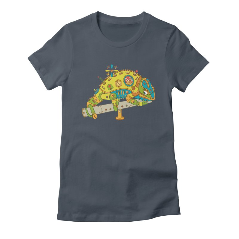 Chameleon, cool art from the AlphaPod Collection Women's T-Shirt by AlphaPod