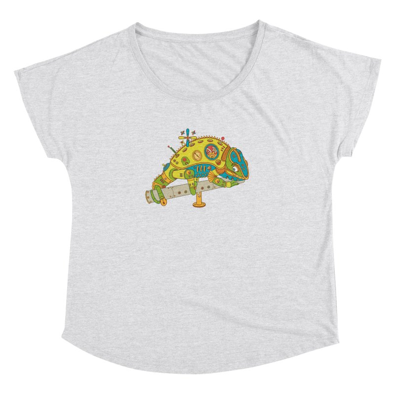 Chameleon, cool wall art for kids and adults alike Women's Dolman by AlphaPod