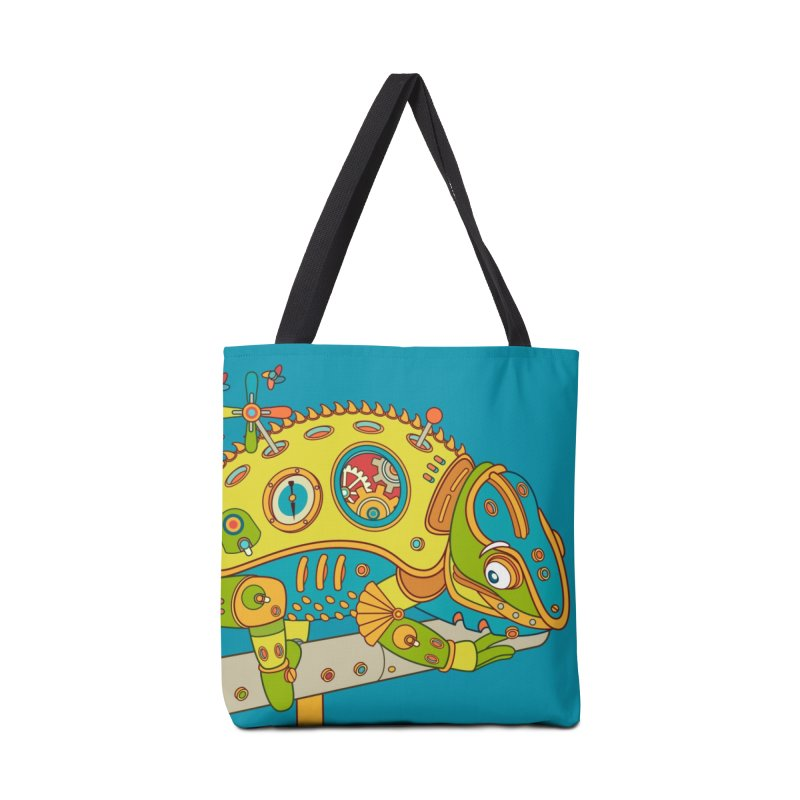 Chameleon, cool wall art for kids and adults alike Accessories Bag by AlphaPod