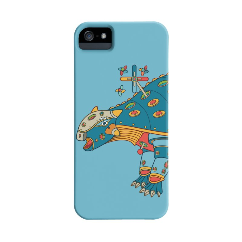 Dinosaur, cool art from the AlphaPod Collection Accessories Phone Case by AlphaPod