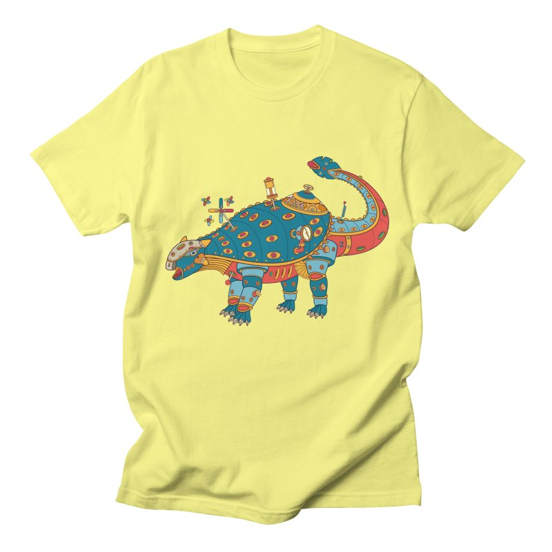 Dinosaur, cool art from the AlphaPod Collection Men's T-Shirt by AlphaPod
