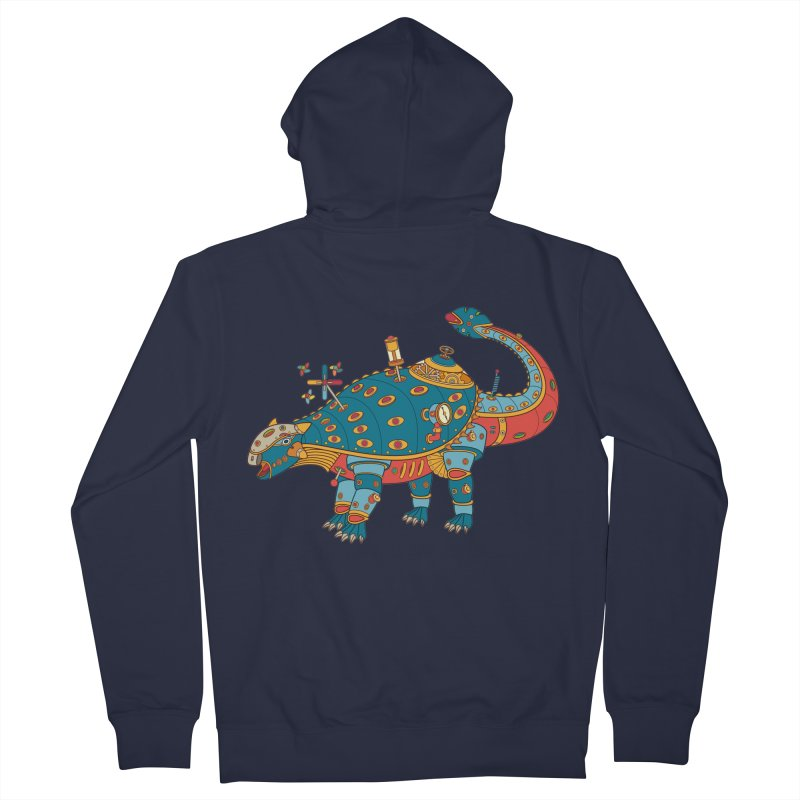 Dinosaur, cool art from the AlphaPod Collection Women's Zip-Up Hoody by AlphaPod