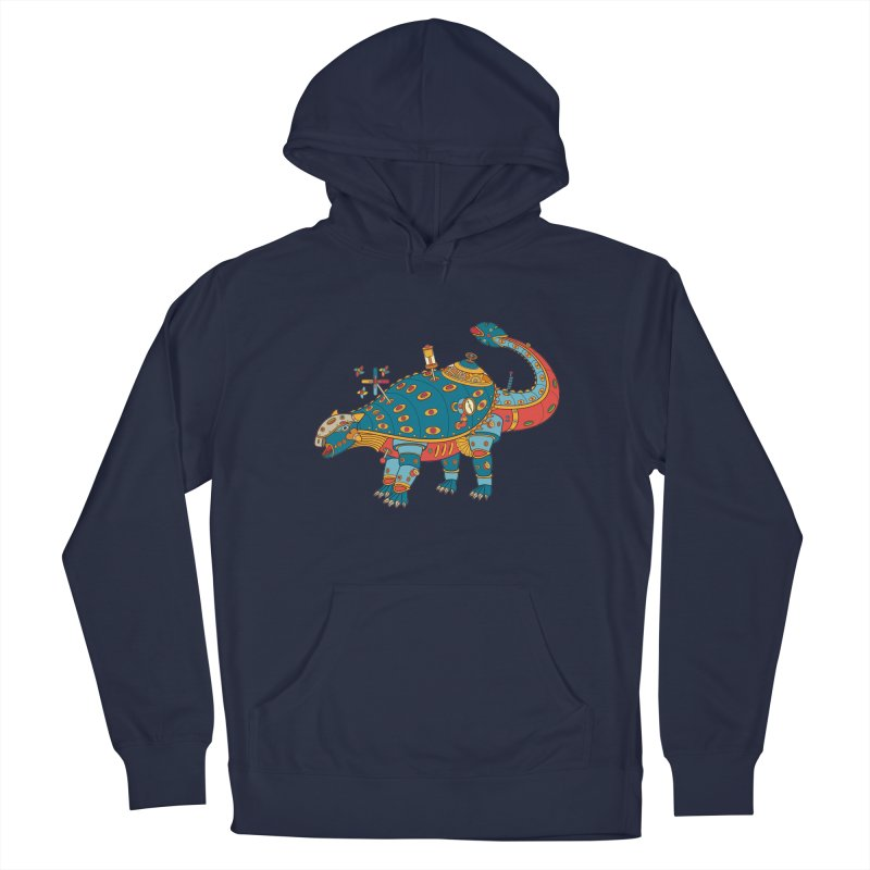 Dinosaur, cool art from the AlphaPod Collection Men's Pullover Hoody by AlphaPod