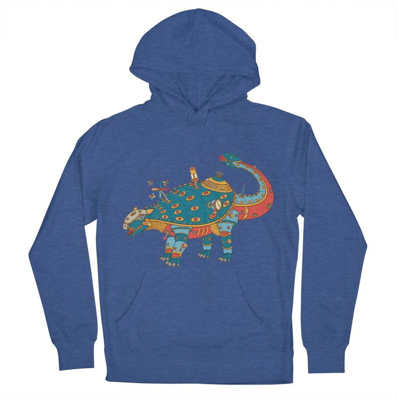 Dinosaur, cool art from the AlphaPod Collection Men's French Terry Pullover Hoody by AlphaPod